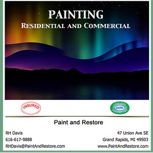Paint & Restore, LLC Logo