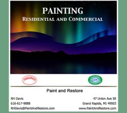 Paint & Restore, LLC Logo