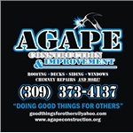 Agape Construction & Hm Logo