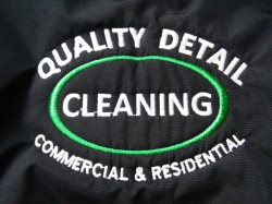 Quality Detail Cleaning Logo