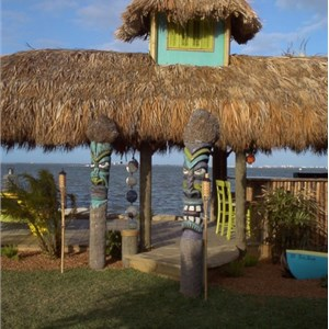 Tiki Huts by Tiki Mike Cover Photo