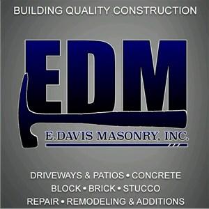 E.Davis Masonry, Inc Logo