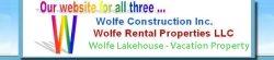 Wolfe Construction INC Logo