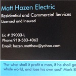Matt Hazen Electric Logo