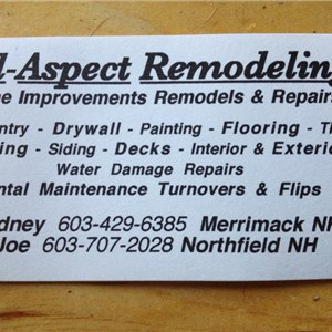 J.s. Neveu Enterprises / all Aspect Remodeling Logo