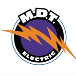 M.D.T. Electric Logo