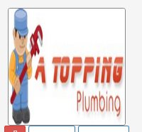 A Topping Plumbing Logo