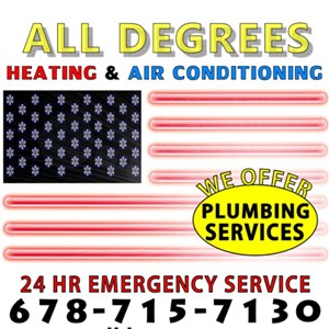 All Degrees Heating & Air Conditioning Logo