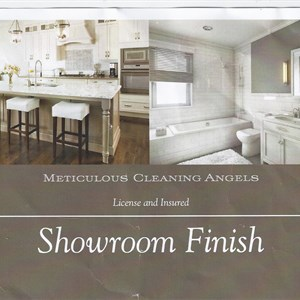 Meticulous Cleaning Angels Logo