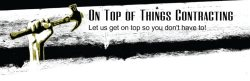 On Top Of Things Contracting Logo