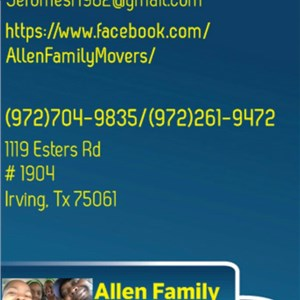 Allen Family Movers Logo