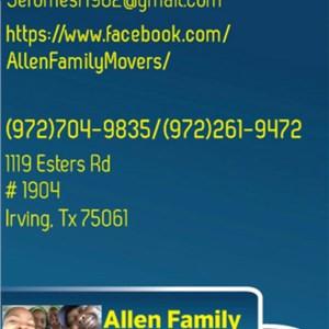 Allen Family Movers Logo