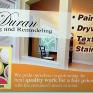 Duran Painting and Remodeling Logo