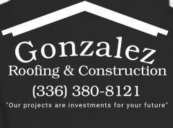 Gonzalez Roofing & Construction Logo