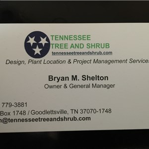 Tennessee Tree and Shrub Cover Photo