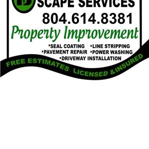 Blakd Out Scape Services Logo