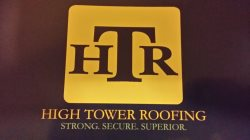 High Tower Roofing Logo