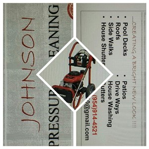 Johnson Pressure Cleaning Logo
