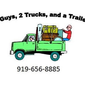 Two Guys, Two Trucks and a Trailer Logo