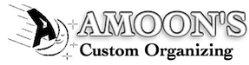 Amoons Custom Organizing Logo