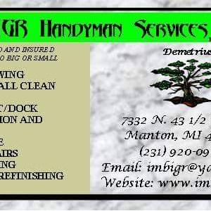 Imbigr Handyman Services,LLC Logo