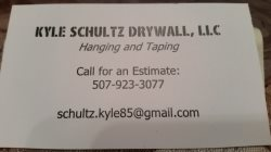 Kyle Schultz Drywall LLC Logo