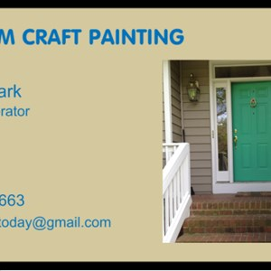 Custom Craft Painting Logo