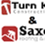 TurnKey Construction & Saxon Roofing & Repair Logo