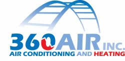 360 AIR Conditioning Logo