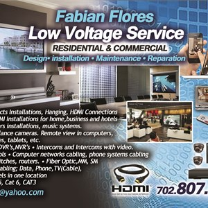 Ff Low Voltage Servcice Logo