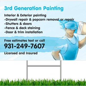 3rd Generation Painting Logo