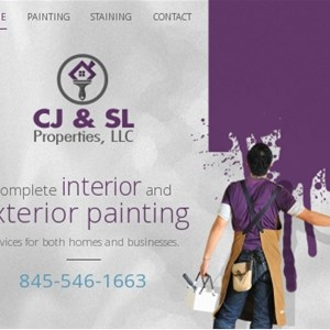 CJ & SL Painting LLC Logo