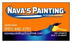 Navas Painting Logo