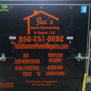 Joes Home Remodeling and Repair Cover Photo