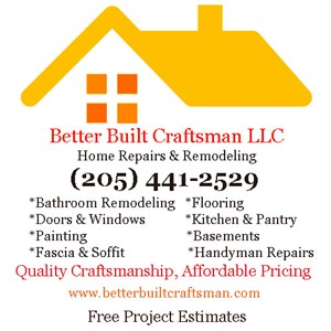 Better Built Craftsman LLC Logo