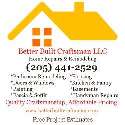 Better Built Craftsman LLC Logo