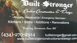 Built Stronger Logo