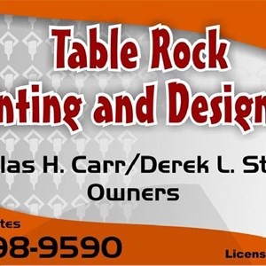 ?Table Rock Painting And Design Company LLC Logo