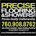 Precise Flooring and Showers, Inc. Logo