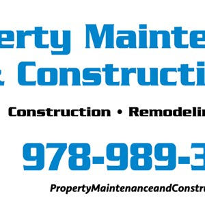 Property Maintenance and Construction Logo