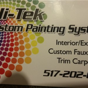 Hi-tek Custom Painting Systems Logo