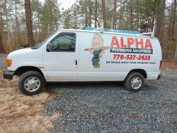 Alpha Plumbing Solutions Logo