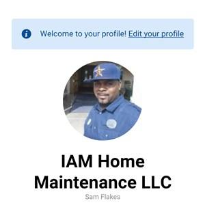 Iam Home Maintenance LLC Logo
