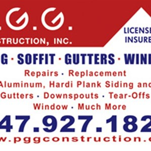 P.g.g Construction Inc. Logo