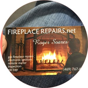 Roger Soares Chimney Services and Fireplace Repairs Logo