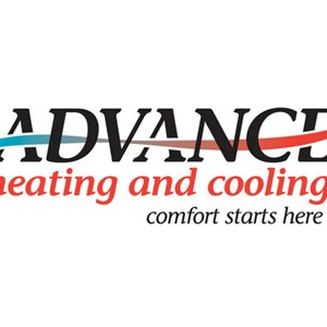 Advance Heating and Cooling Logo