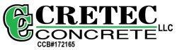 Cretec Concrete LLC Logo