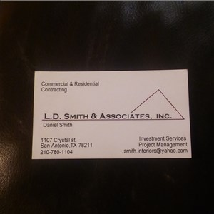 L.D.Smith Contracting Logo