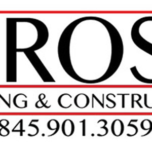 R Rose Roofing & Construction Logo