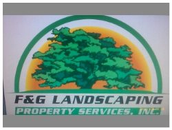 F&g Landscaping Property Services Logo